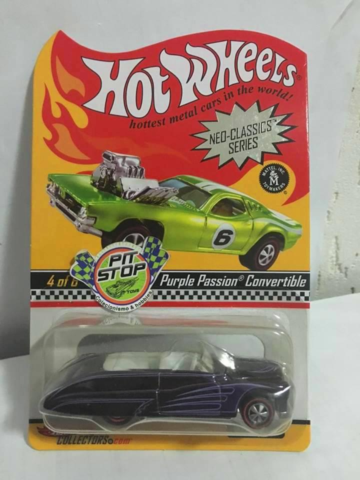 Hot Wheels - Purple Passion Convertible - Neo-Classics Series