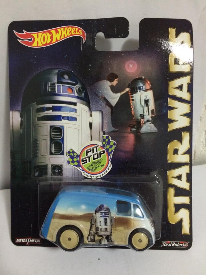 Hot Wheels - Quick D-Livery - R2-D2 - Star Wars