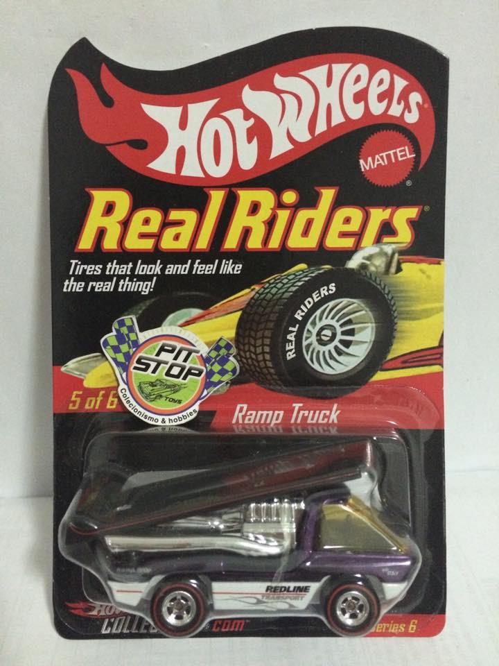 Hot Wheels - Ramp Truck - Real Riders