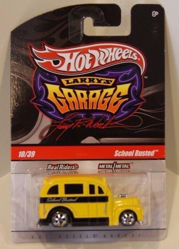Hot Wheels - School Busted Amarelo - Garage