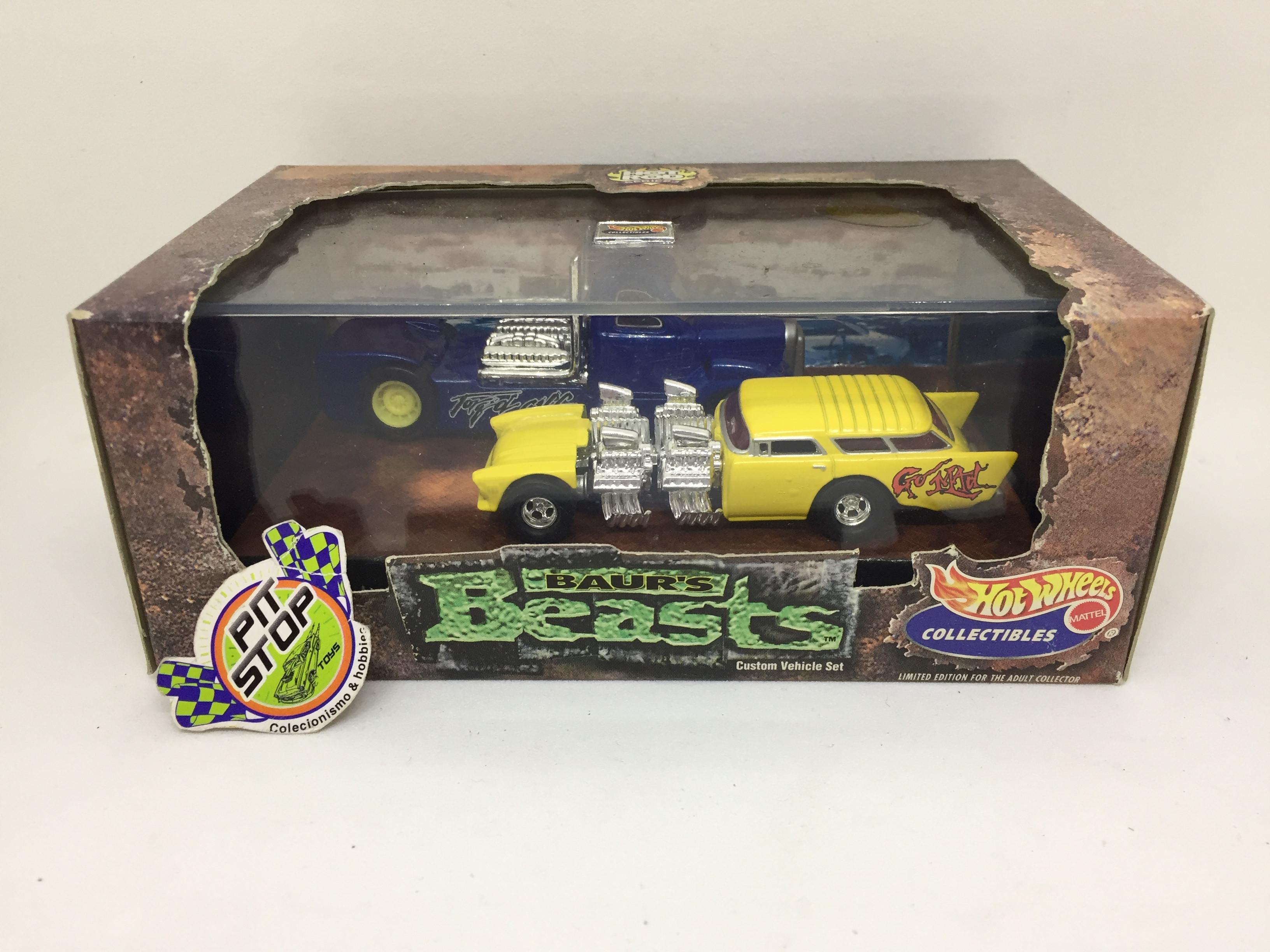 Hot Wheels - Set Hot Rod Beasts - HW Collectibles