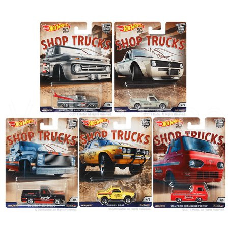 Hot Wheels - Set Shop Trucks 2018 - Completo -  Car Culture