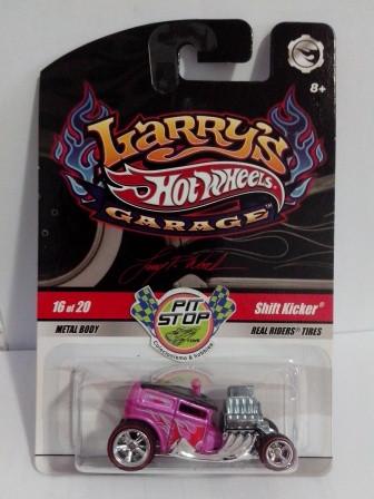 Hot Wheels - Shift Kicker Rosa - Garage