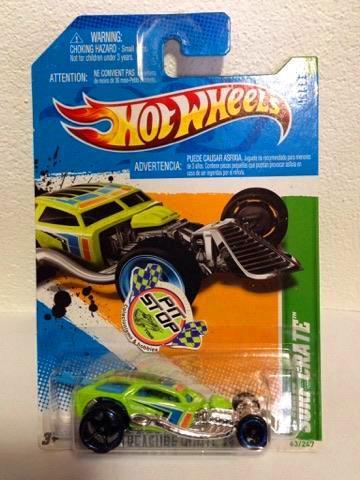 Hot Wheels - Surf Crate Verde - Treasure Hunt 2012