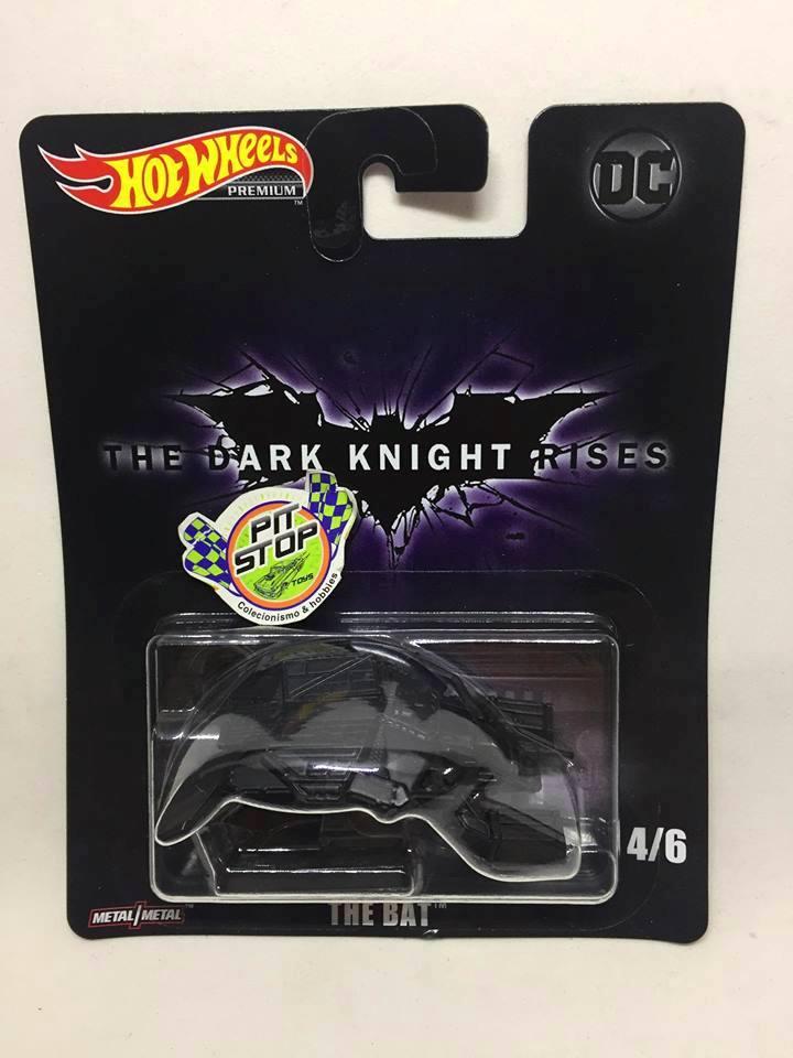 Hot Wheels - The Bat Preto - The Dark Knight Rises - DC - HW Premium