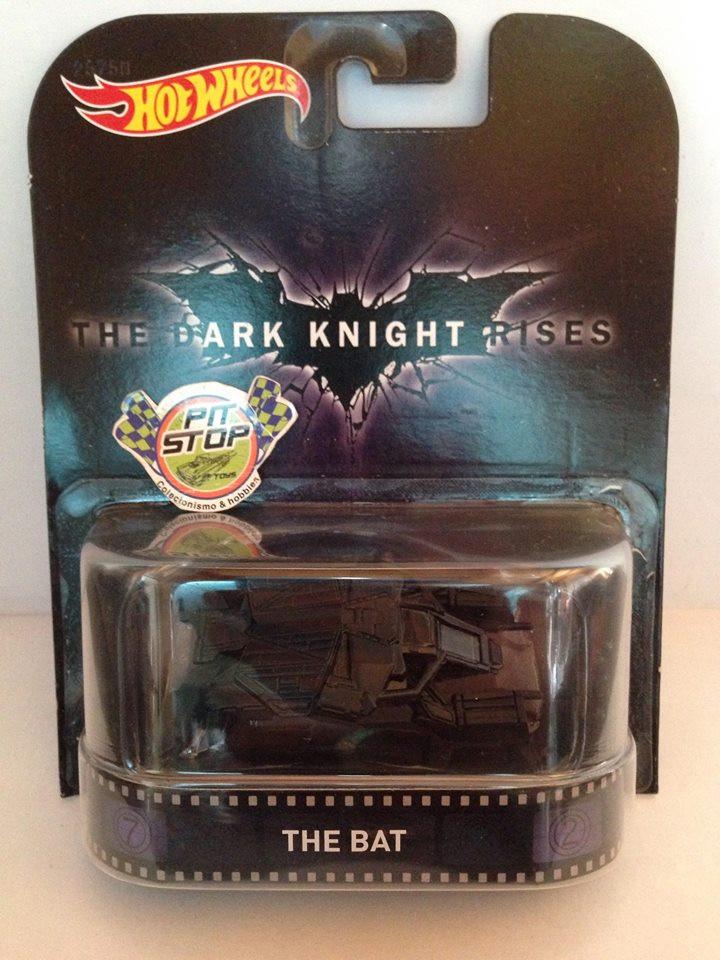 Hot Wheels - The Bat - The Dark Knight Rises