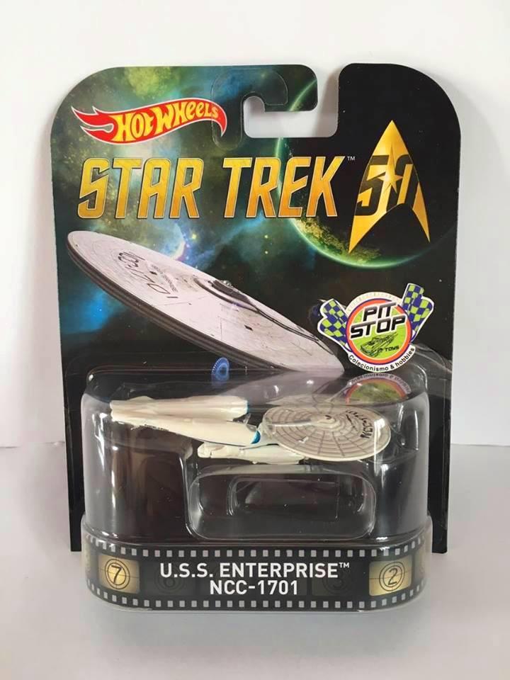 Hot Wheels - U.S.S. Enterprise NCC-1701 - Star Trek 50 - Retro