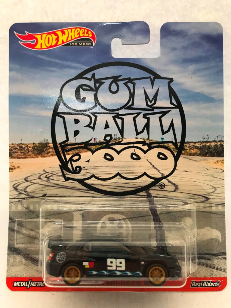 Hot Wheels - Subaru Imprenza WRX - Gum Ball Booo - Retro