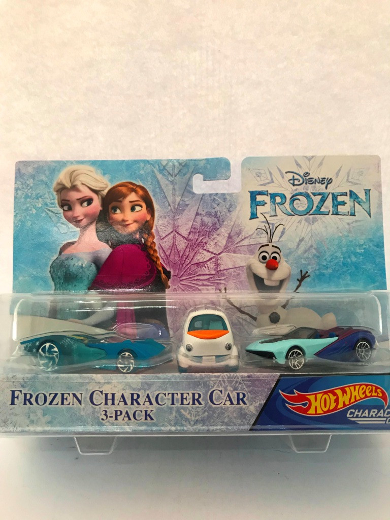 Hot Wheels - Elsa - Olaf - Anna - Disney Frozen