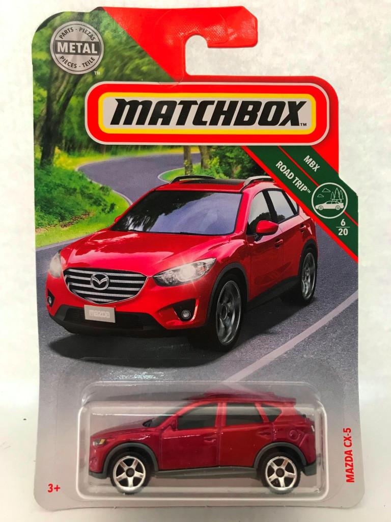Matchbox - Mazda CX-5 Vermelho - Básico 2020