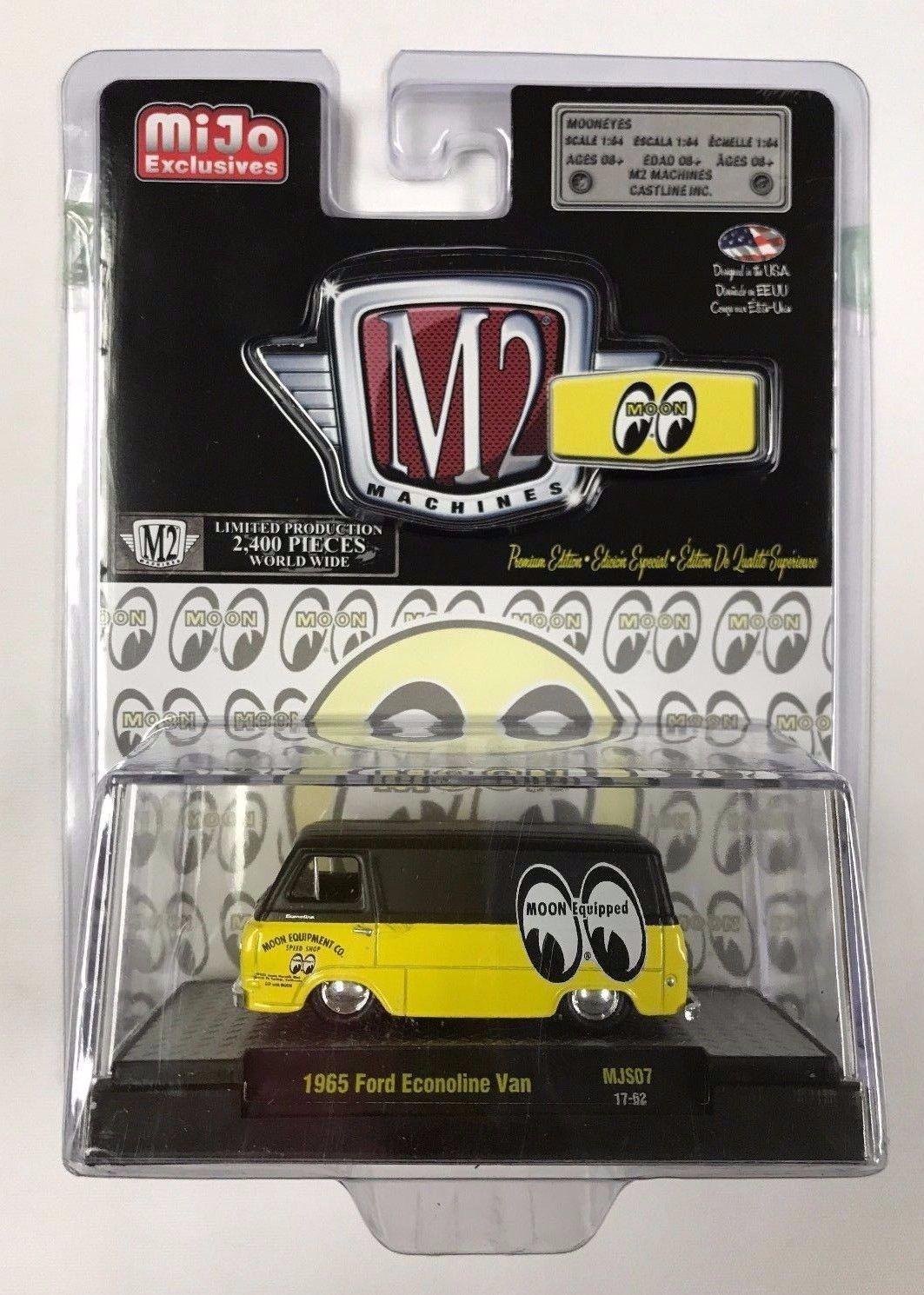 M2 Machines - 1965 Ford Econoline Van - MiJo Exclusivo - Limitado 2400 pcs