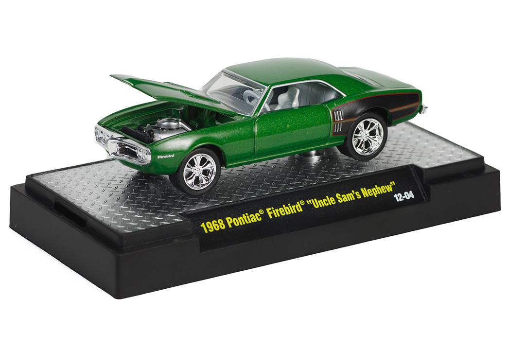M2 Machines - 1968 Pontiac Firebird Uncle Sam's Nephew Verde - Foose
