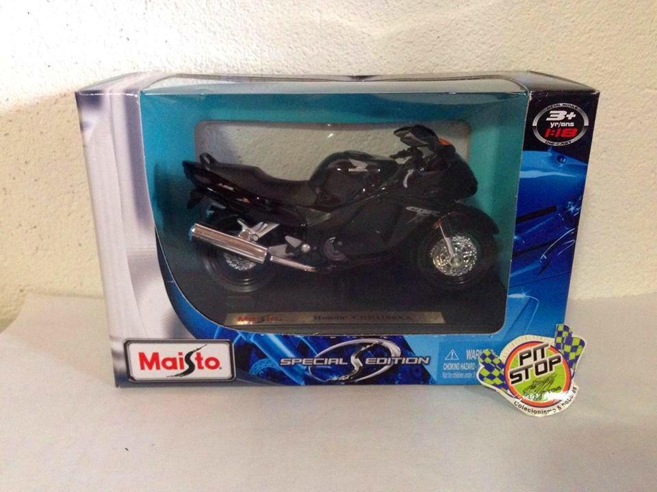 Maisto - Honda CBR1100XX Preta - Special Edition