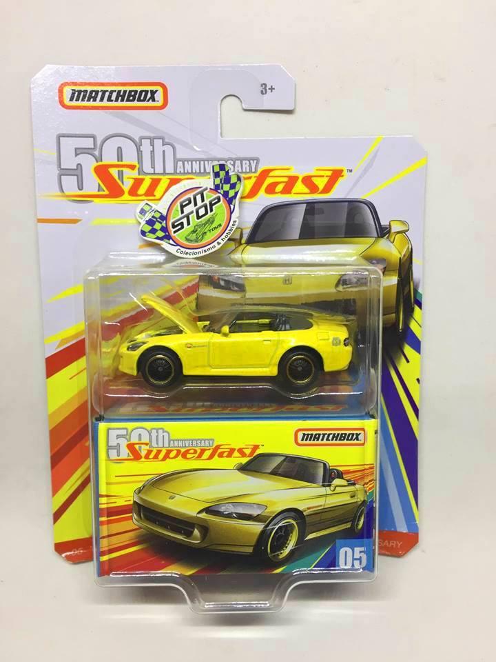 Matchbox - 04 Honda S2000 - Superfast 50th Anniversary