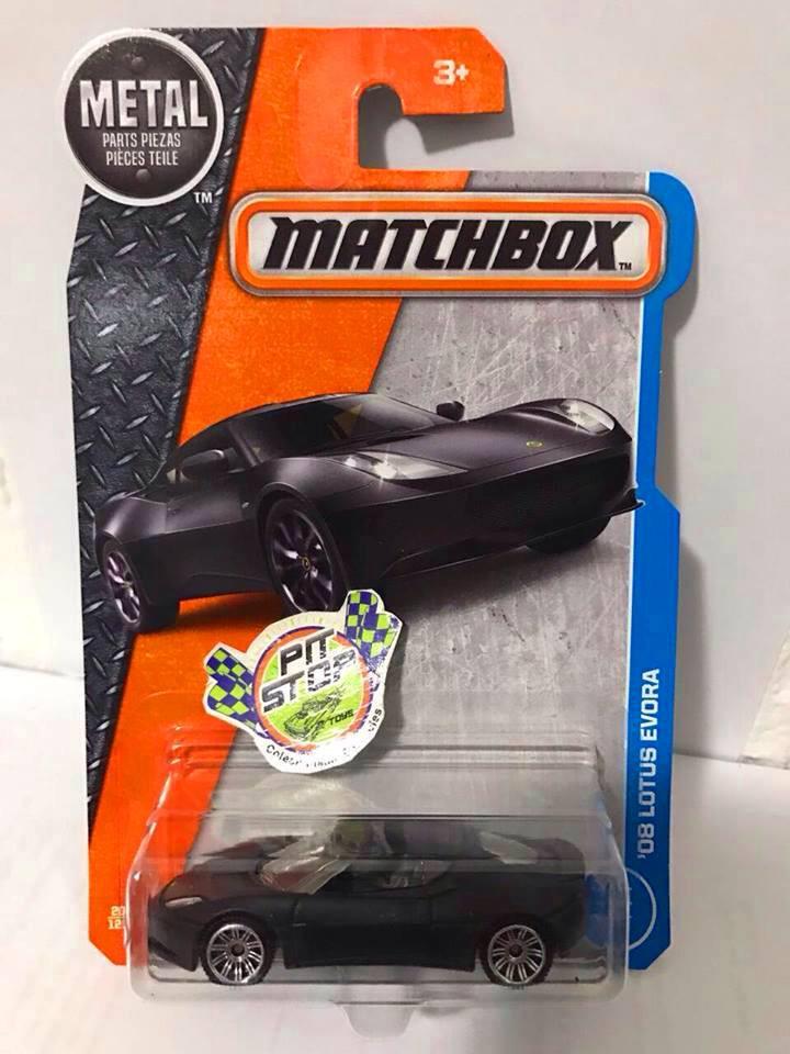 Matchbox - 08 Lotus Evora Preto - Básico 2017