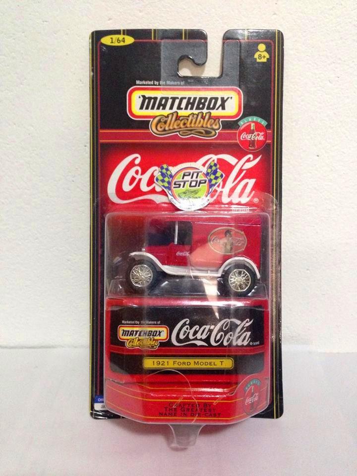 Matchbox - 1921 Ford Model T Vermelho - Coca Cola