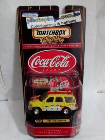Matchbox - 1998 Ford Expedition - Coca Cola
