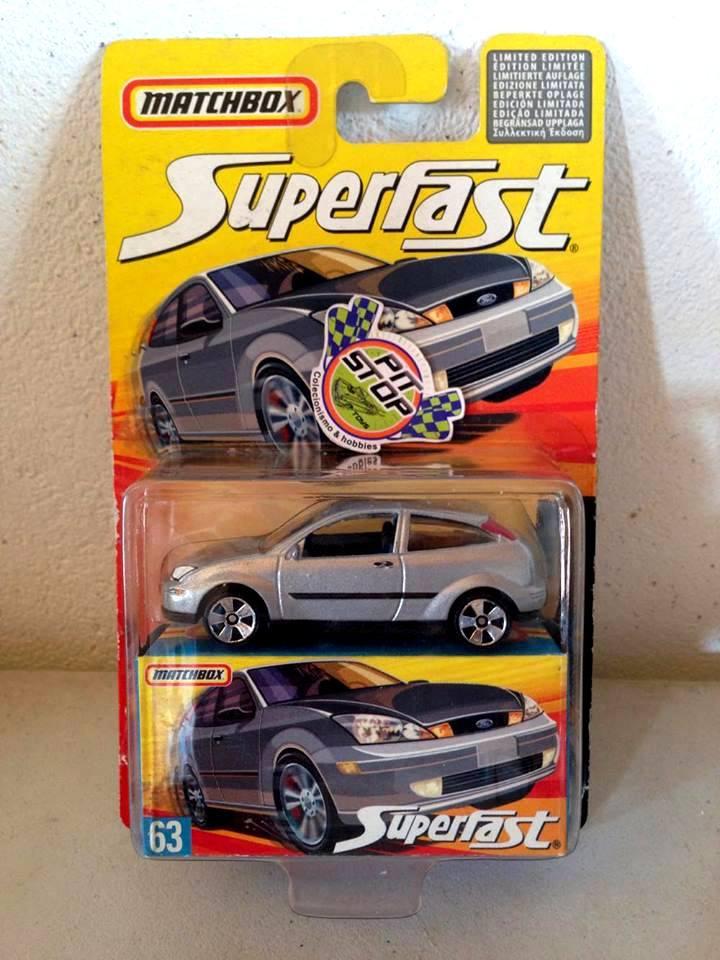 Matchbox - Ford Focus Prata - Superfast