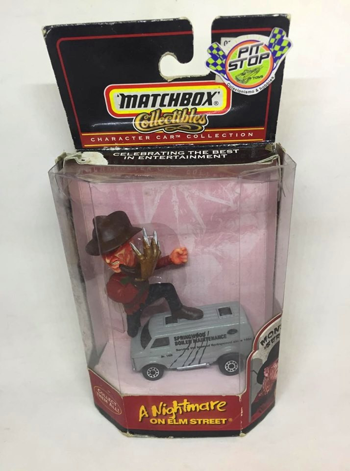 Matchbox - Freddy Krueger - A Nightmare on Elm Street - Collectibles