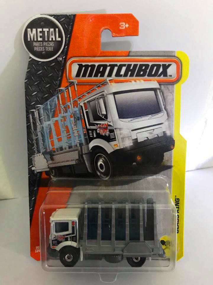 Matchbox - Glass King Branco - Básico 2017