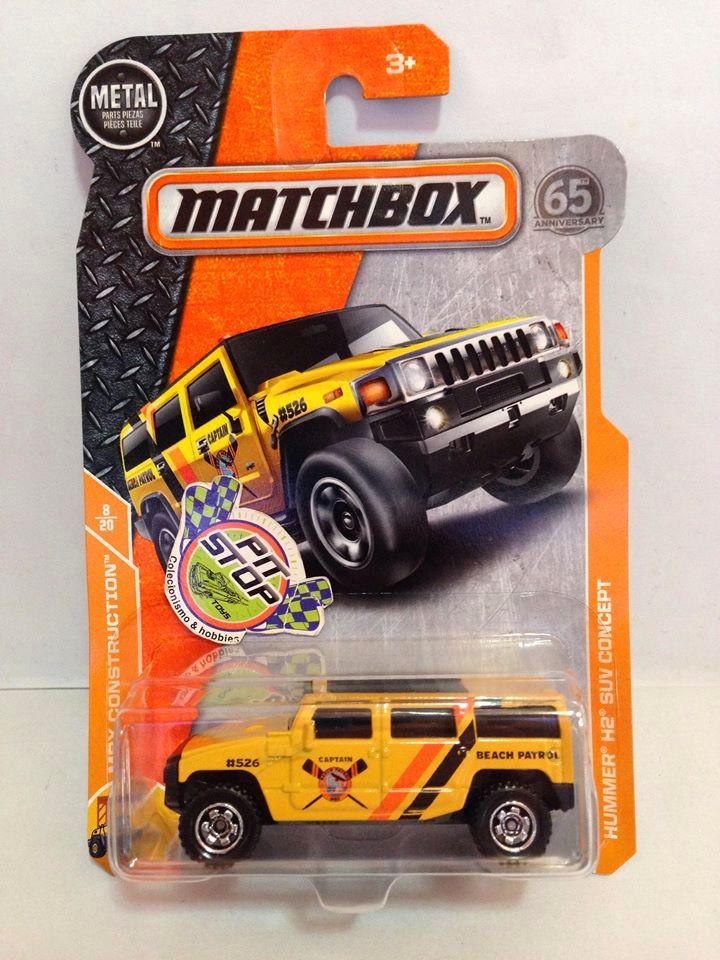 Matchbox - Hummer H2 SUV Concept Amarelo - Básico 2018