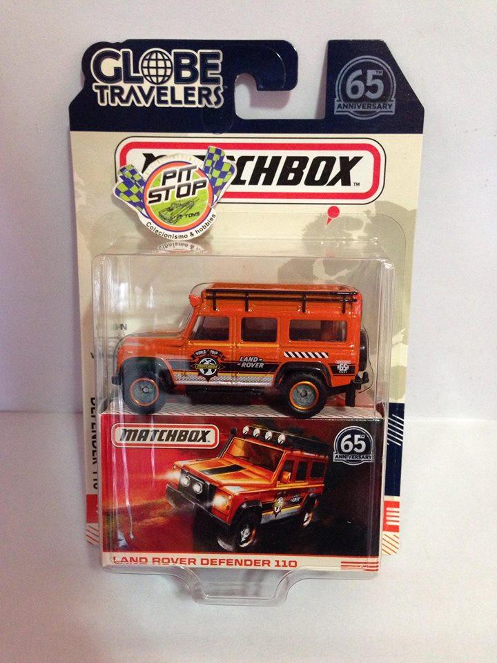 Matchbox - Land Rover Defender 110 - Globe Travelers