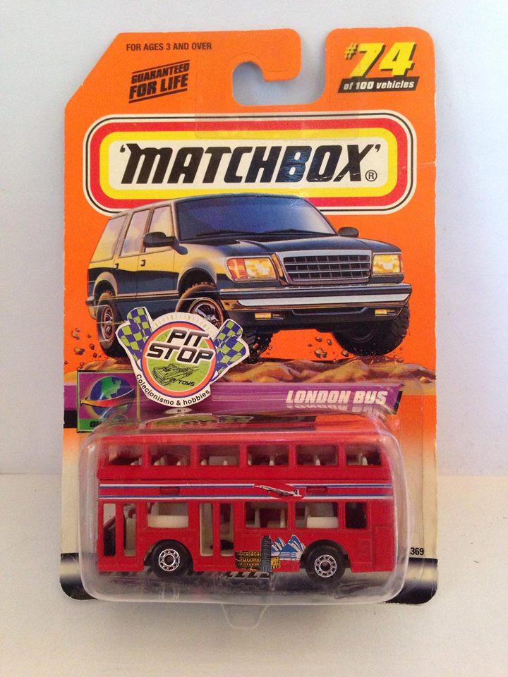 Matchbox - London Bus Vermelho - Básico 2000
