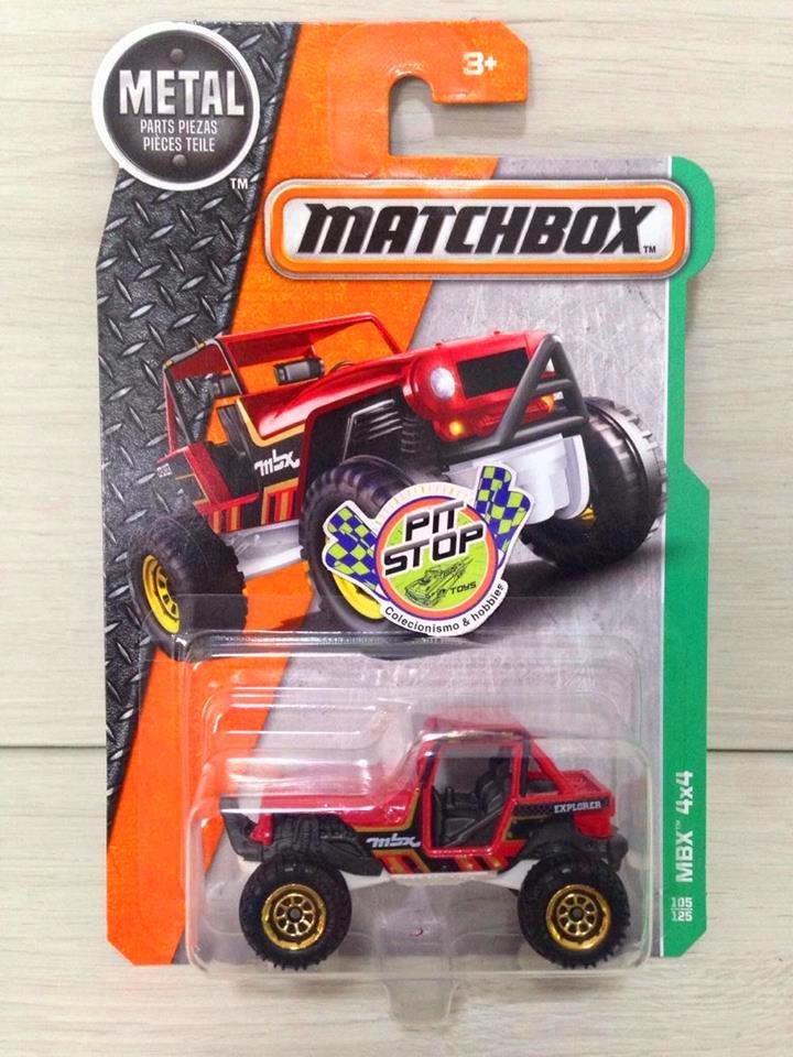 Matchbox - MBX 4x4 Vermelho - Básico 2017