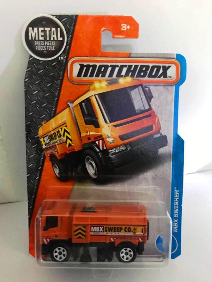 Matchbox - MBX Swisher Laranja - Básico 2017