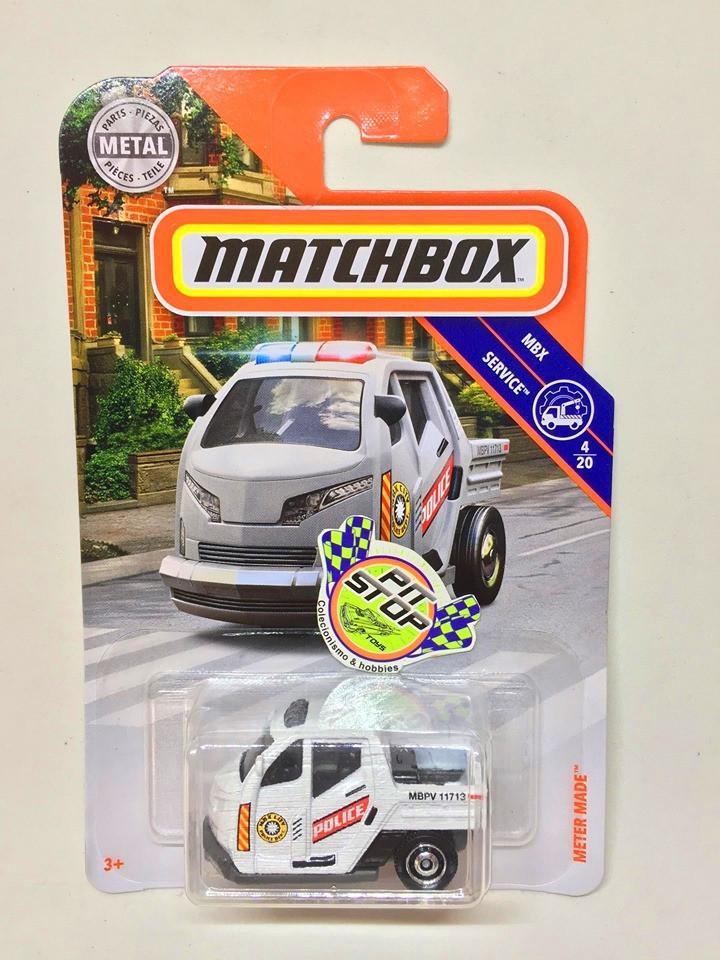 Matchbox - Meter Made Branco - MBX Service - Básico 2019