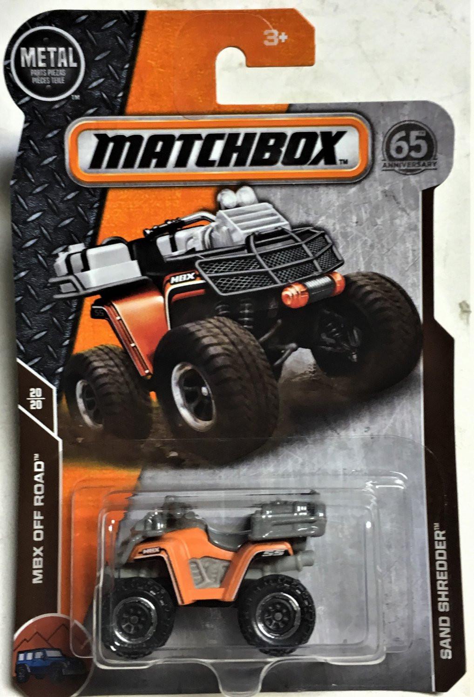 Matchbox - Sand Shredder Laranja - Matchbox 2018
