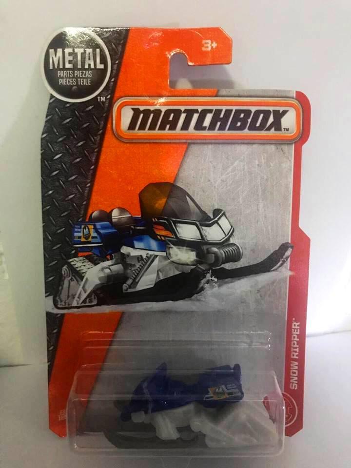 Matchbox - Snow Ripper Azul - Básico 2017