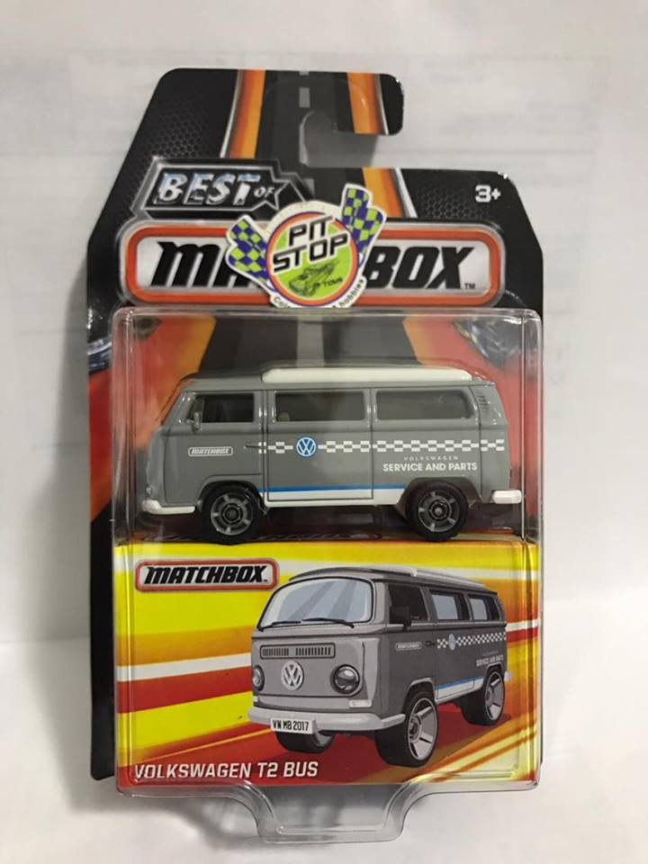 Matchbox - Volkswagen T2 Bus - Best of Matchbox 2017