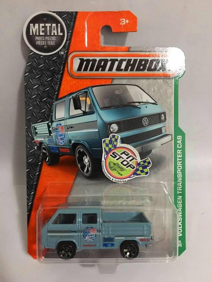 Matchbox - Volkswagen Transporter CAB Azul - Básico 2016