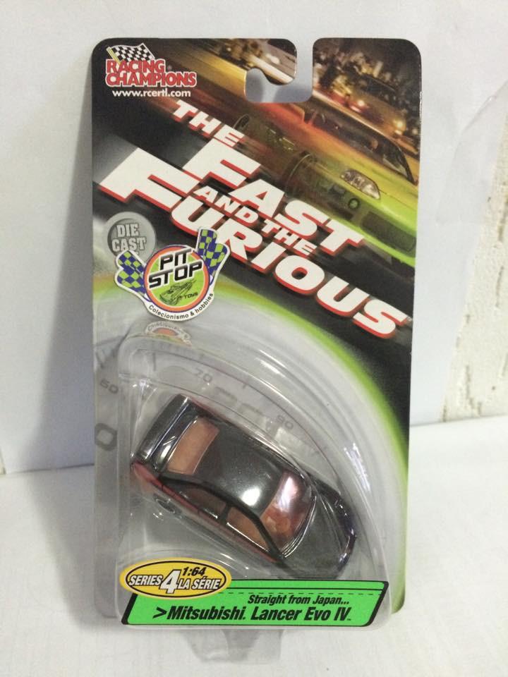 Racing Champions - Mitsubishi Lancer Evo IV - The Fast and the Furious