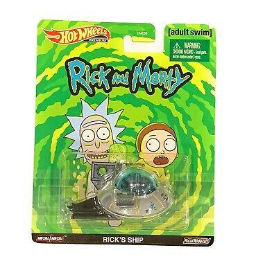 Hot Wheels - Rick's Ship - Rick and Morty - Premium 2020