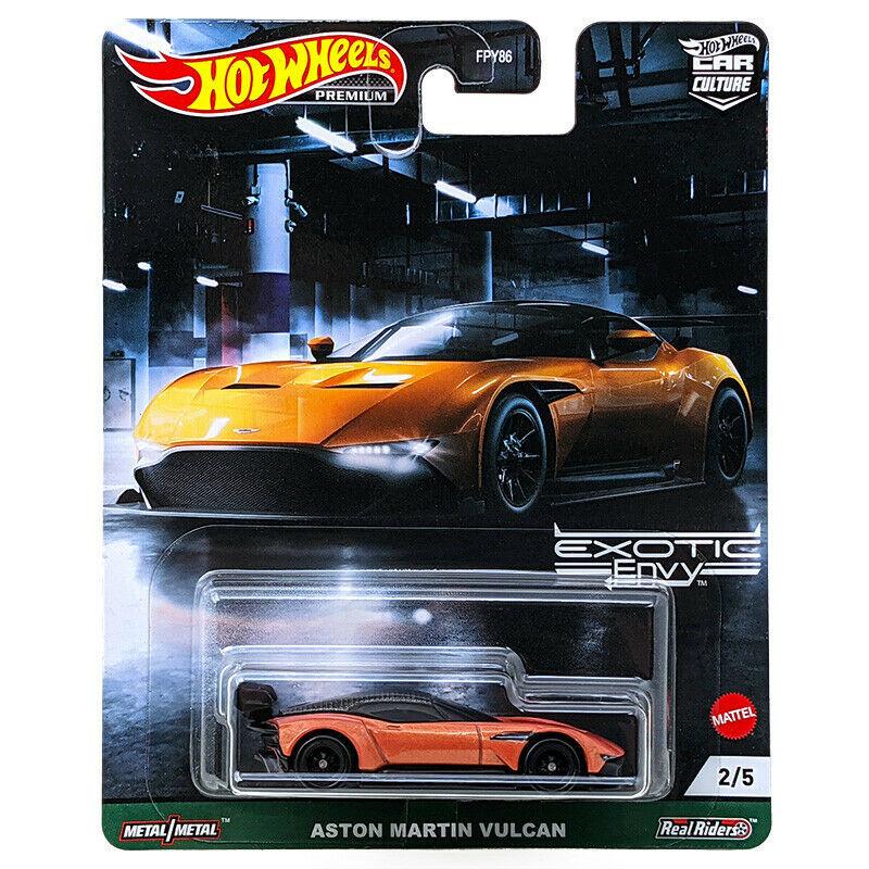 Hot Wheels - Aston Martin Vulcan - Exotic Envy - Car Culture