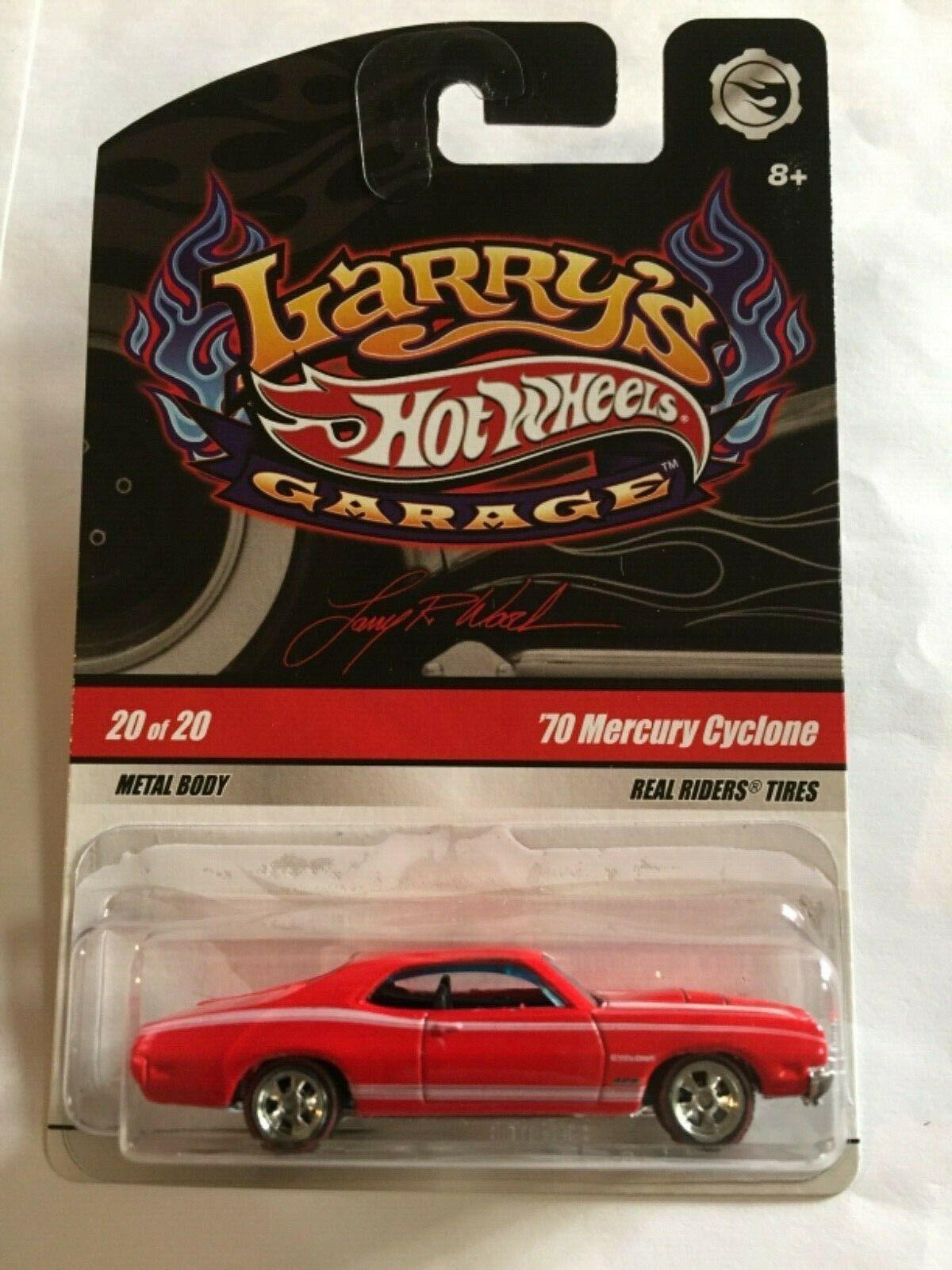 Hot Wheels - 70 Mercury Cyclone Vermelho - Garage