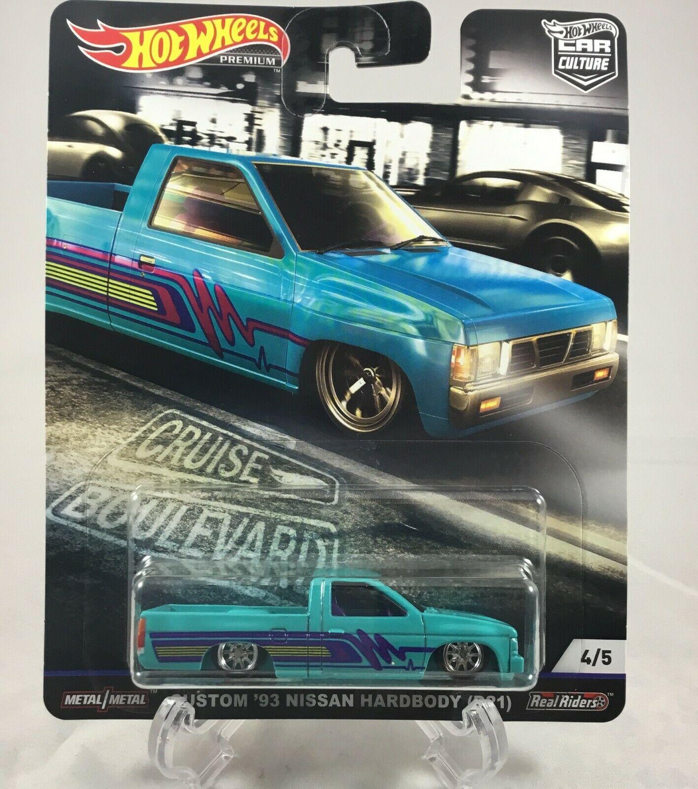 Hot Wheels - Custom 93 Nissan Hardbody (D21) - Cruise Boulevard - Car Culture