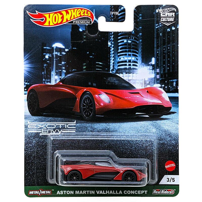 Hot Wheels - Aston Martin Valhalla Concept - Exotic Envy - Car Culture
