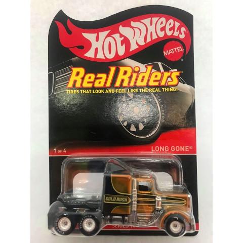 Hot Wheels - Long Gone Dourado - Real Riders