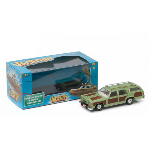 Greenlight - Wagon Queen Family Trckster - National Lampoon's Vacation - Hollywood - Escala 1:43