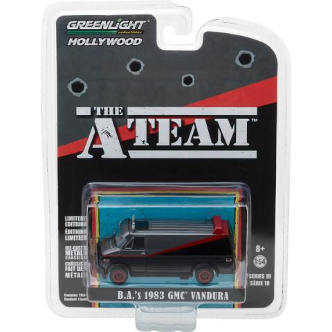 Greenlight - B.A's 1983 GMC Vandura - Esquadrão Classe A - The A Team - Hollywood