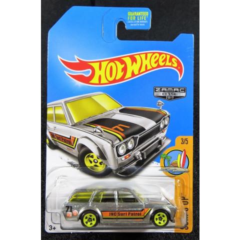 Hot Wheels - 71 Datsun Bluebird 510 Wagon - Zamac 2017