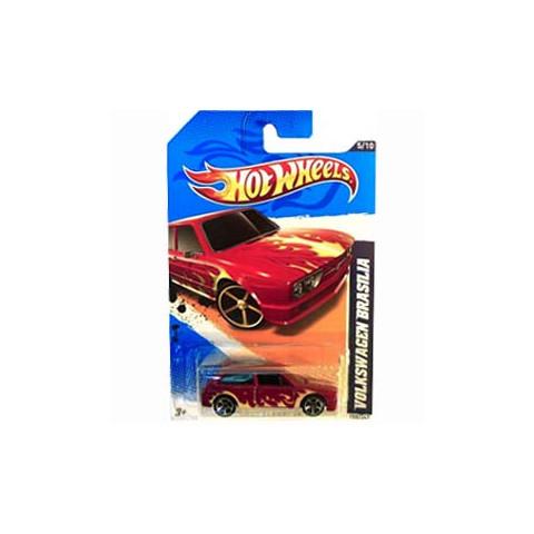 Hot Wheels - Volkswagen Brasilia Vermelho - Mainline 2012