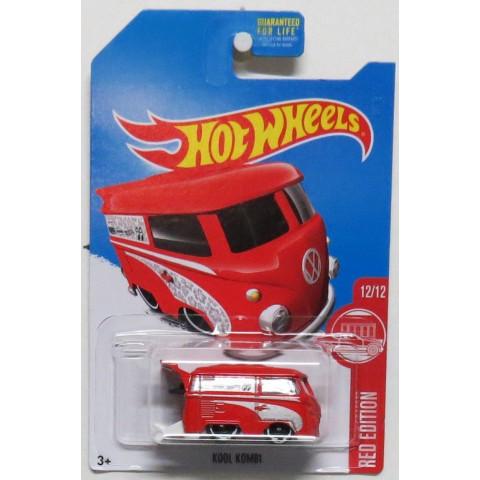 Hot Wheels - Kool Kombi Vermelha - Exclusiva Mercados Target - Mainline 2017