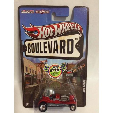 Hot Wheels - Red Baron Vermelho - Boulevard