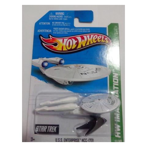 Hot Wheels - U.S.S. Enterprise NCC-1701 - Mainline 2013