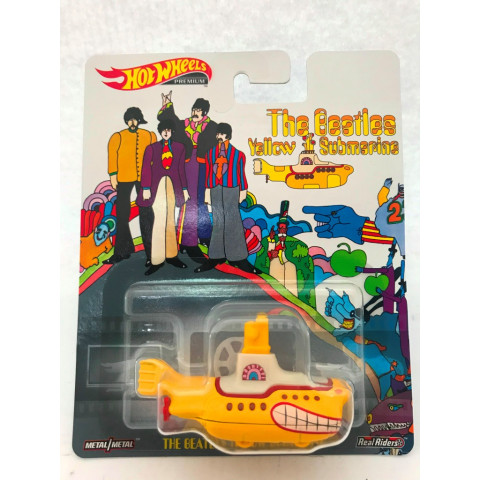 Hot Wheels - The Bealtes Yellow Submarine - Retro