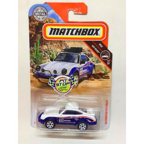 Matchbox - 85 Porsche 911 Rally Branco - MBX Off-Road - Básico 2019